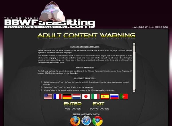 BBW Facesitting Videos