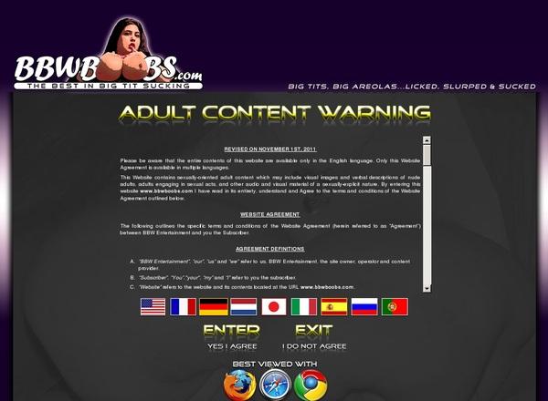 Bbwboobs.com With EUDebit