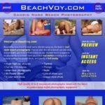 Beach Voy With Yen
