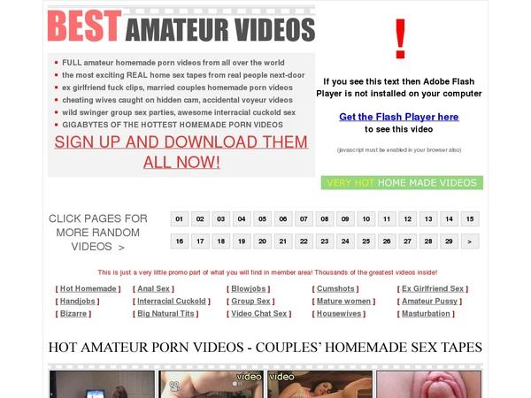 Best-amateur-videos.com Access Free