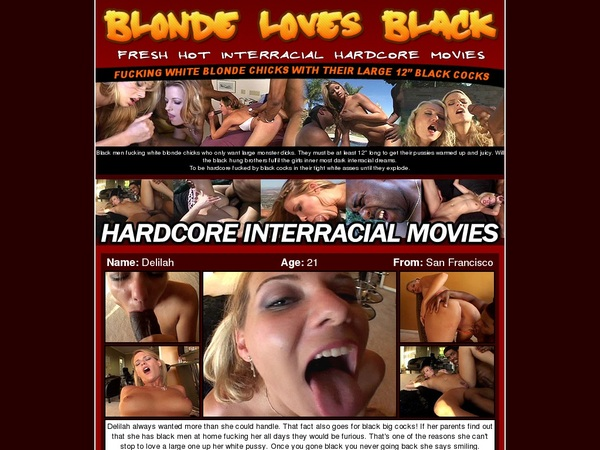 Blond Loves Black Join By Direct Pay