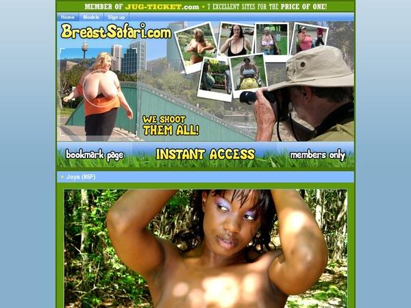Breast-safari.com Username