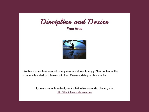 Discipline And Desire Make Account