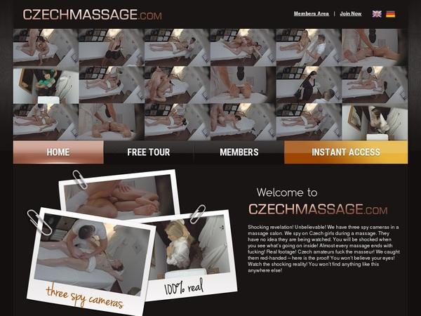 Free Login Czech Massage