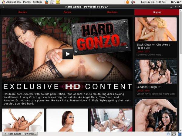 Free Password Hardgonzo.com