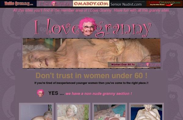 Ilovegranny.com Acc Free
