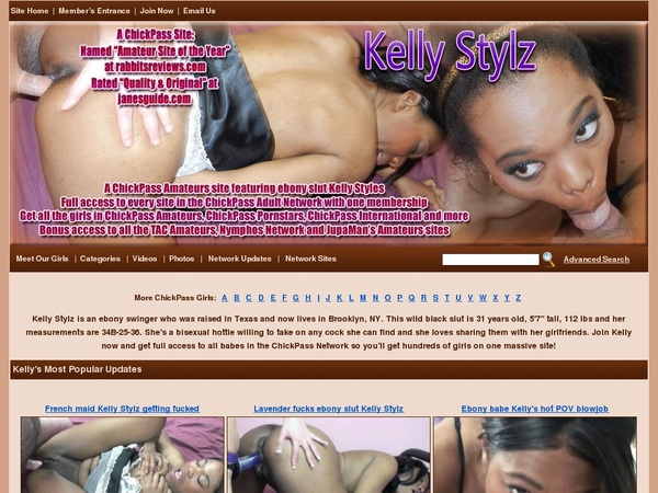 Kelly Stylz Discount Password Account