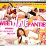New Sweet White Panties