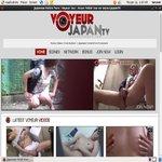 Passwords For Voyeur Japan TV