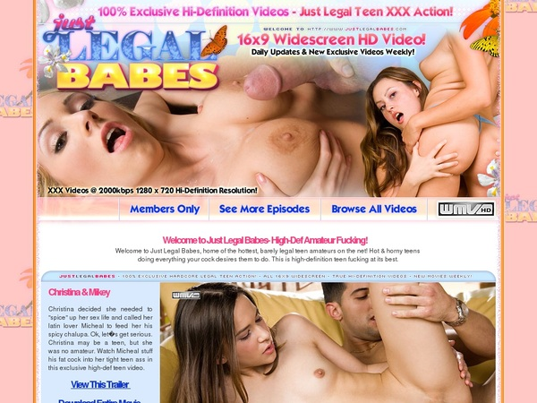 Premium Accounts Free Just Legal Babes