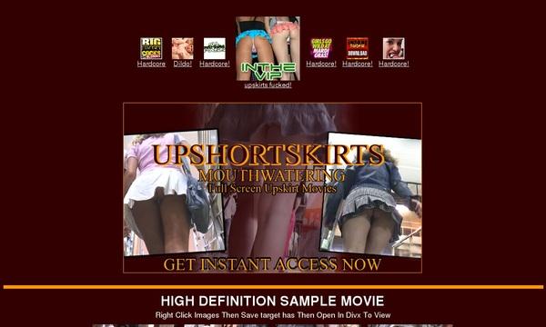 Upshortskirts.com Paswords