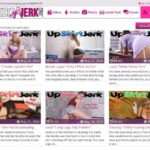 Upskirt Jerk With Discover Card