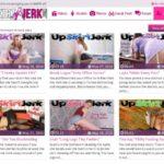 Upskirt Jerk With Yen