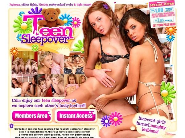 Teen Sleepover Account Creator