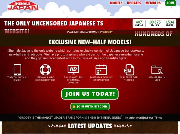 Get Shemale-japan.com Password