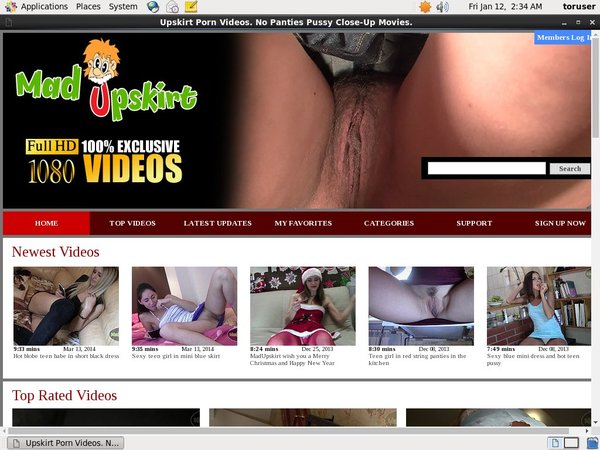 Free Mad Upskirt Login Account