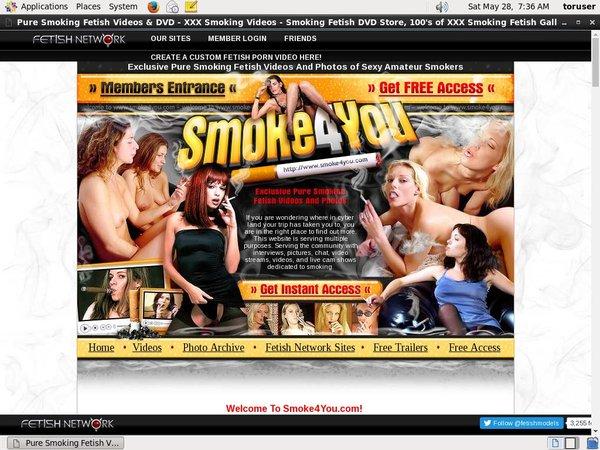 Free Pass For Smoke4you.com