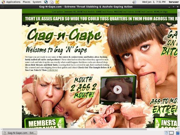 Gag-n-gape.com With AOL Account