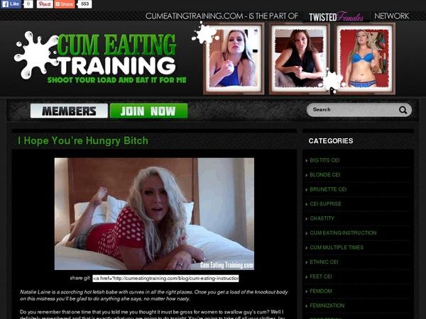 Cum Eating Training Login And Password