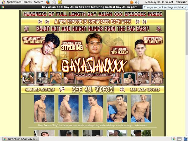 Free Working Gayasianxxx.com Account
