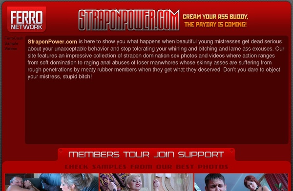 Straponpower Account For Free
